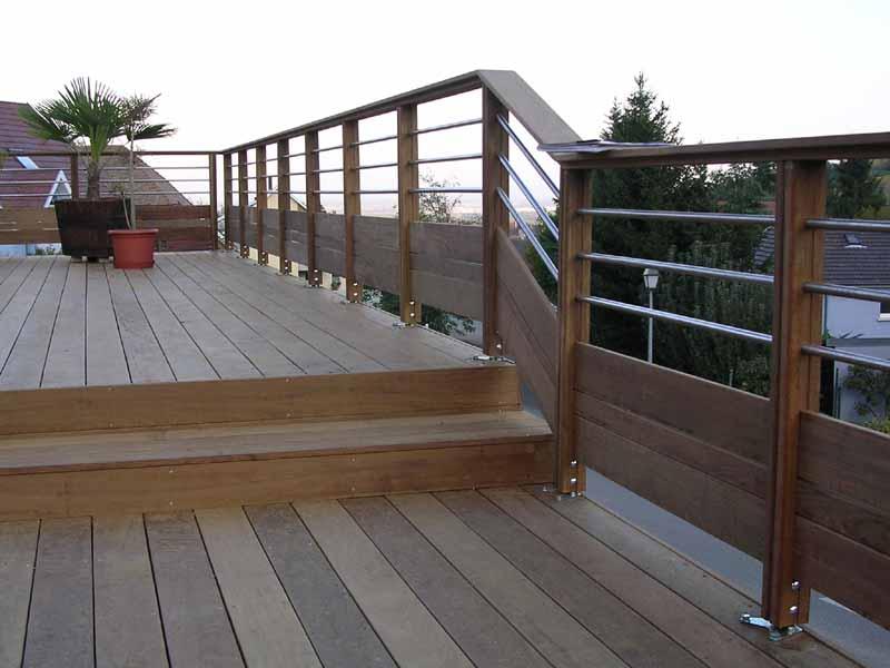 Fabricant alsacien de terrasse bois au sol et sur poteaux garde corps ramb - Simulateur terrasse bois ...